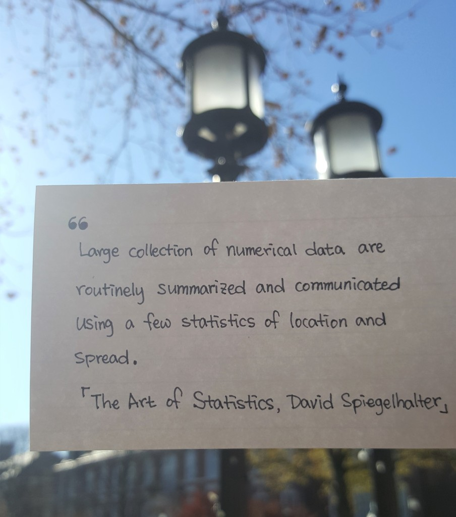 The art of statistics few