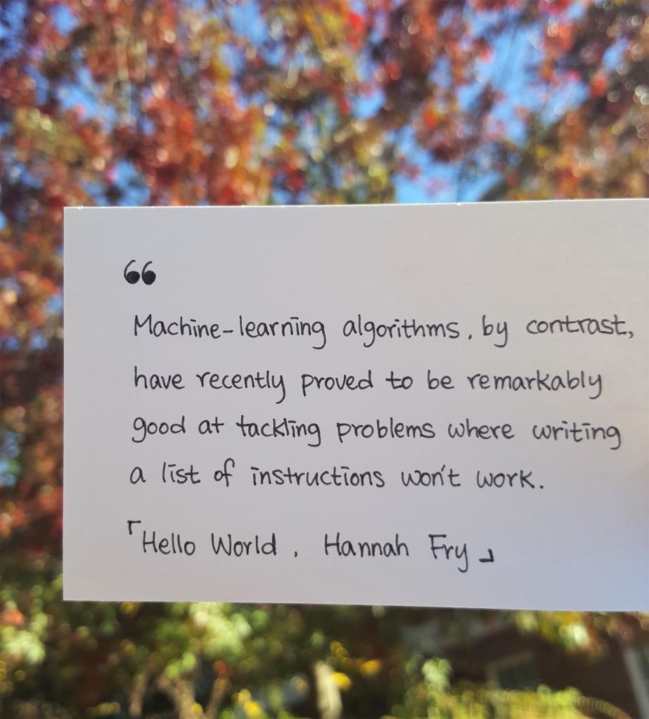 hello world machine learning